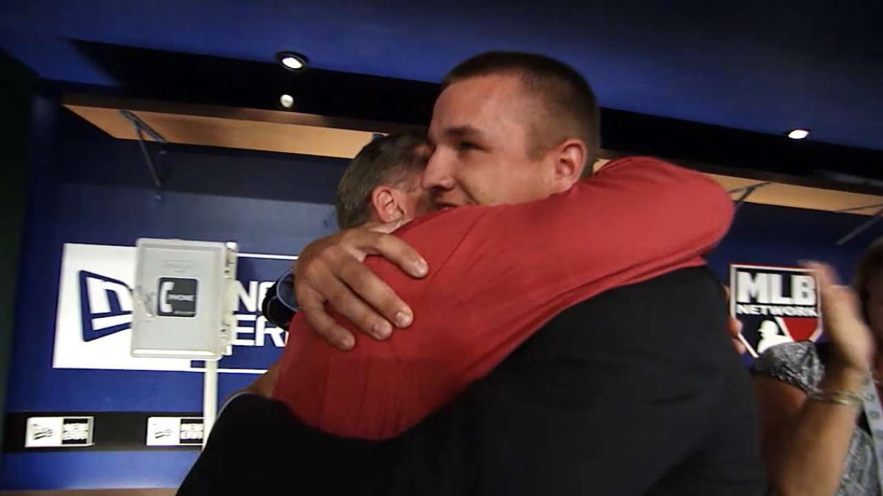 Executives recall Trout's Draft