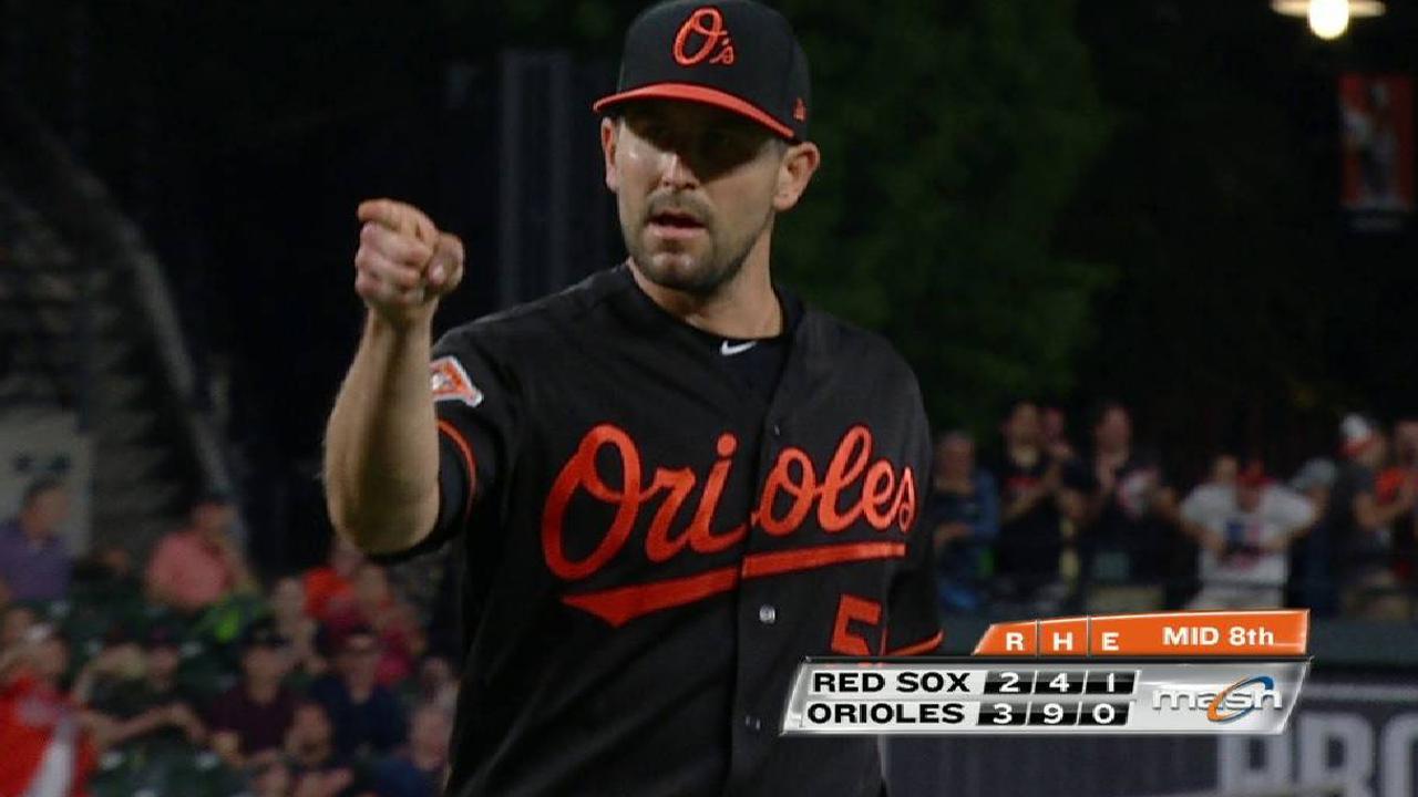O'Day set to throw off mound Monday