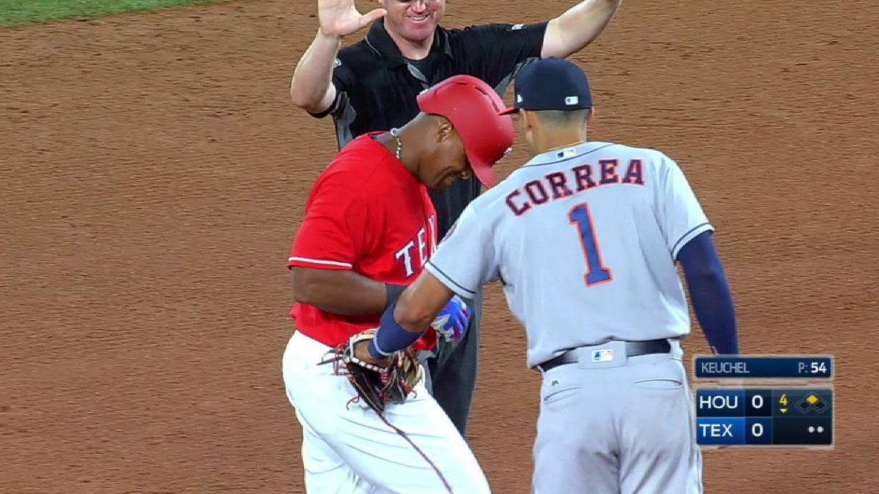 Beltre doubles to right