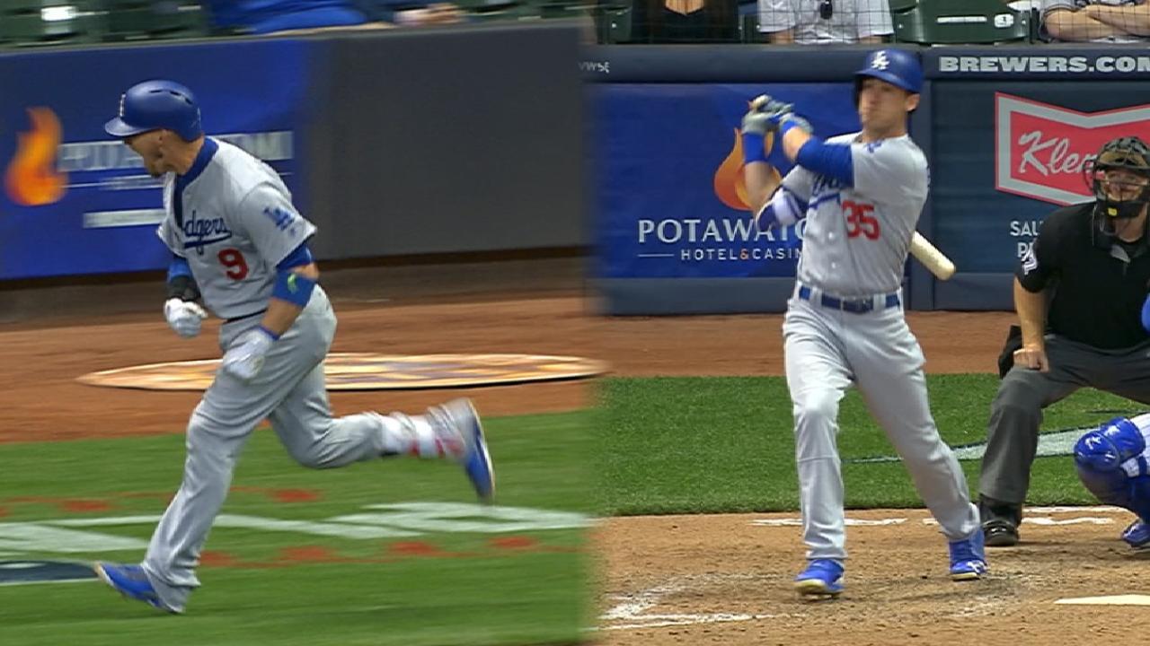 Grandal dispara importante jonrón para Dodgers