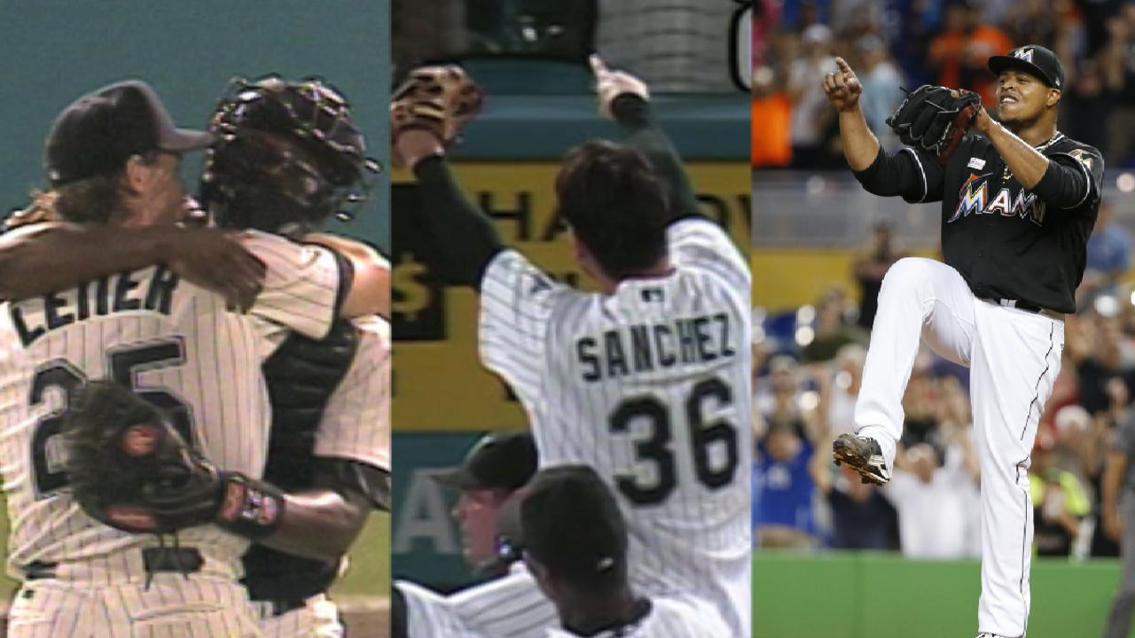 Marlins' six no-hitters