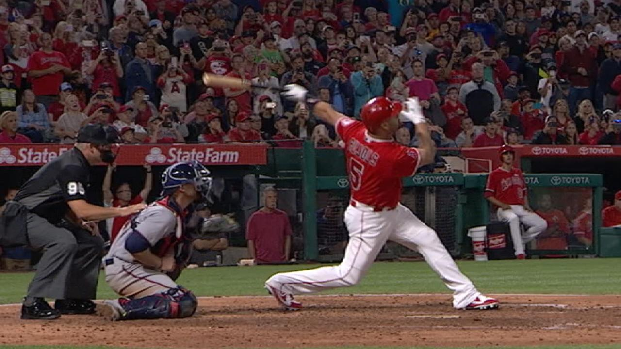 Pujols' 600th career home run