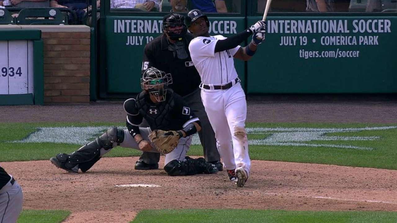 Los Tigres barren a los White Sox con jonrón de Justin Upton en el 9no