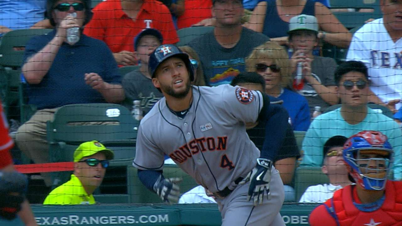 Springer's two-homer game