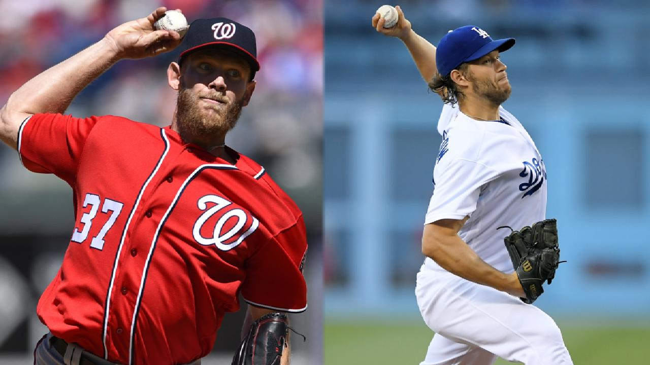Strasburg, Kershaw clash for first time on MLB.TV