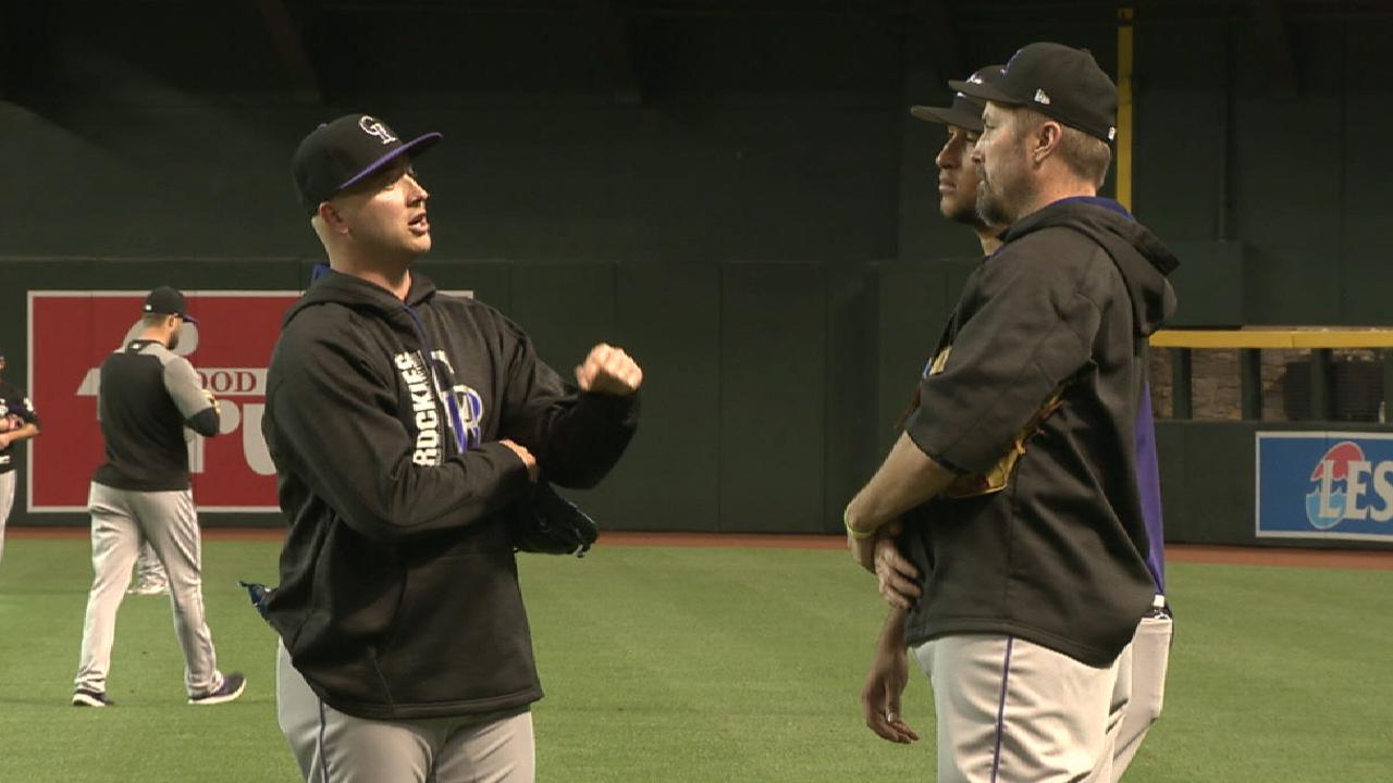 Bettis on returning to clubhouse