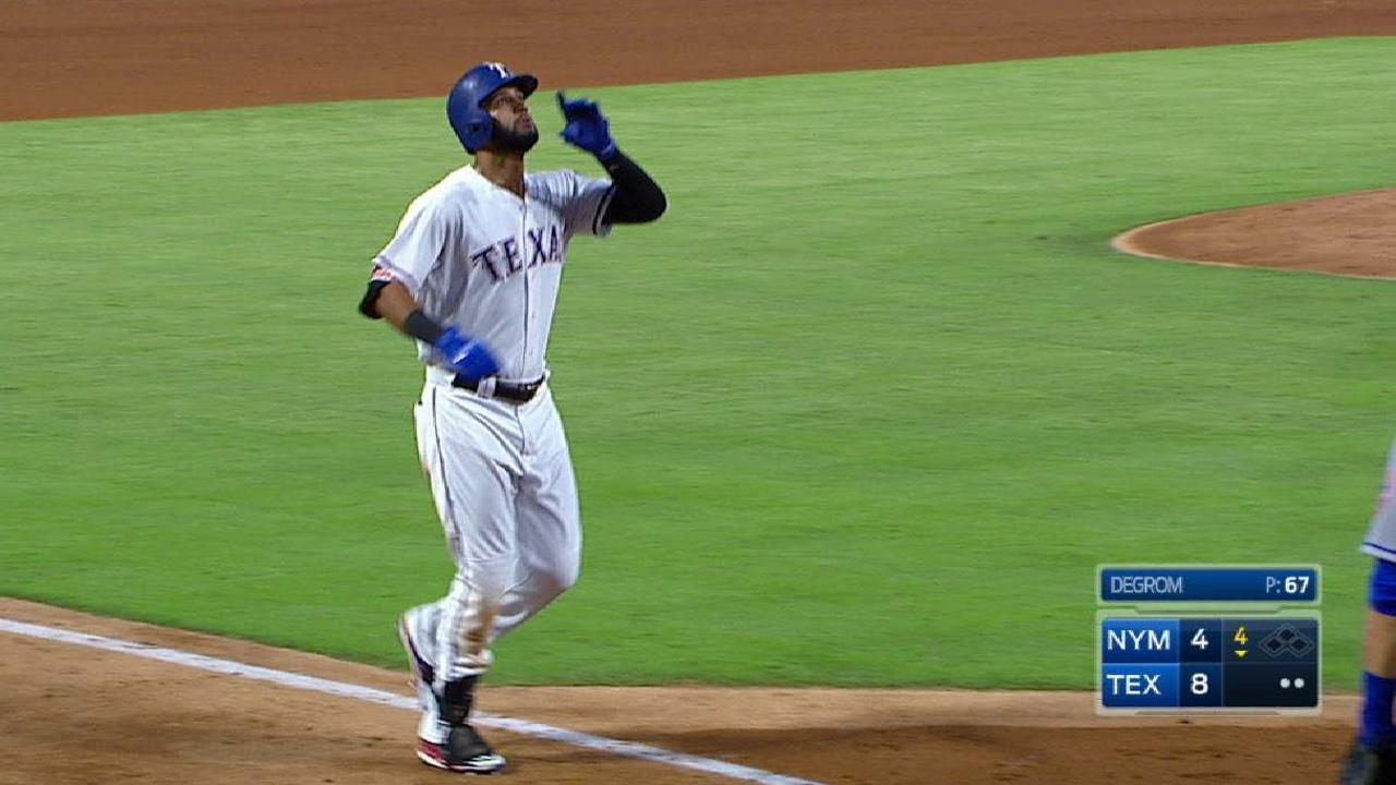 Mazara dio 4 hits y Rangers salieron de mala racha vs. Mets