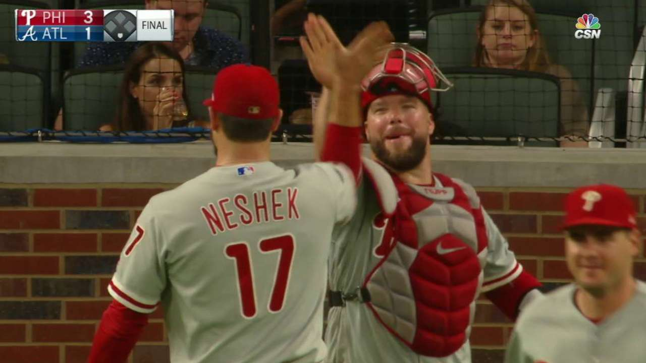 Neshek earns the save