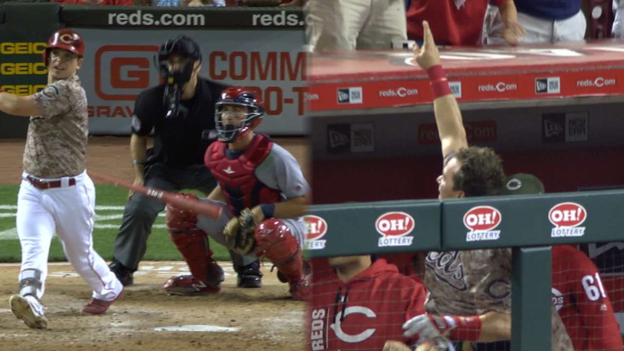 Must C: Gennett's four home runs