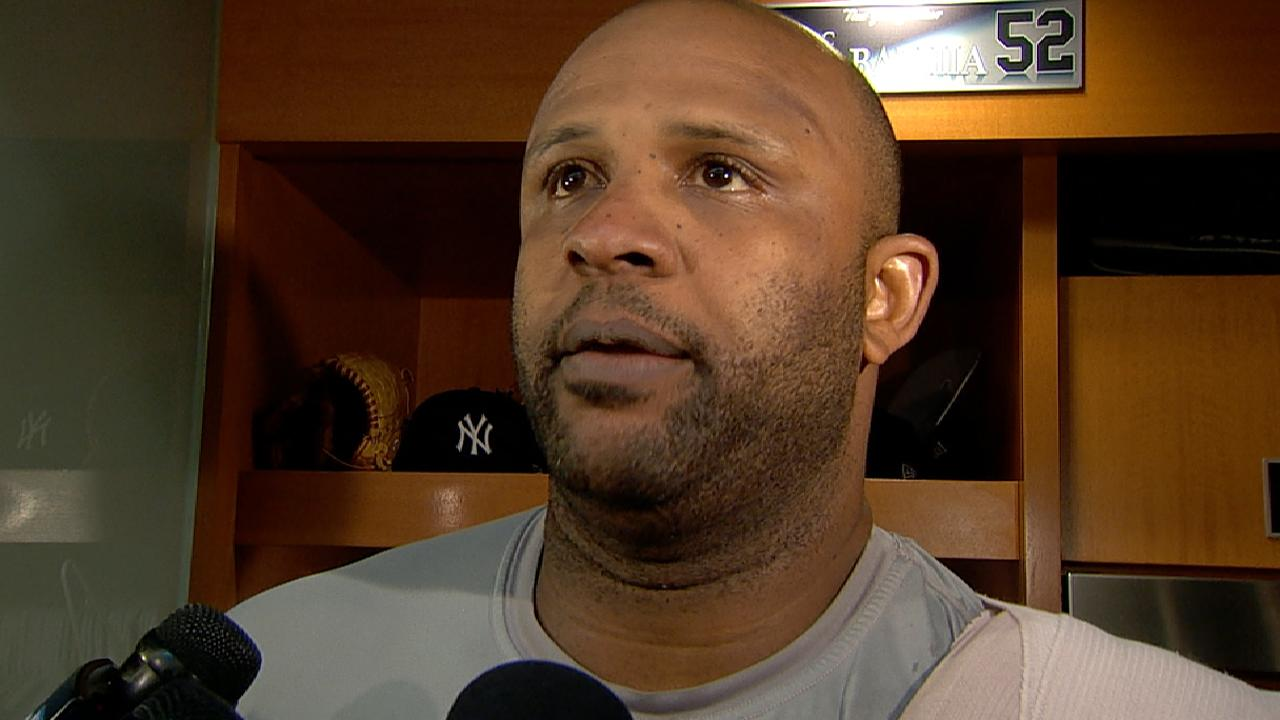 Sabathia on his scoreless start