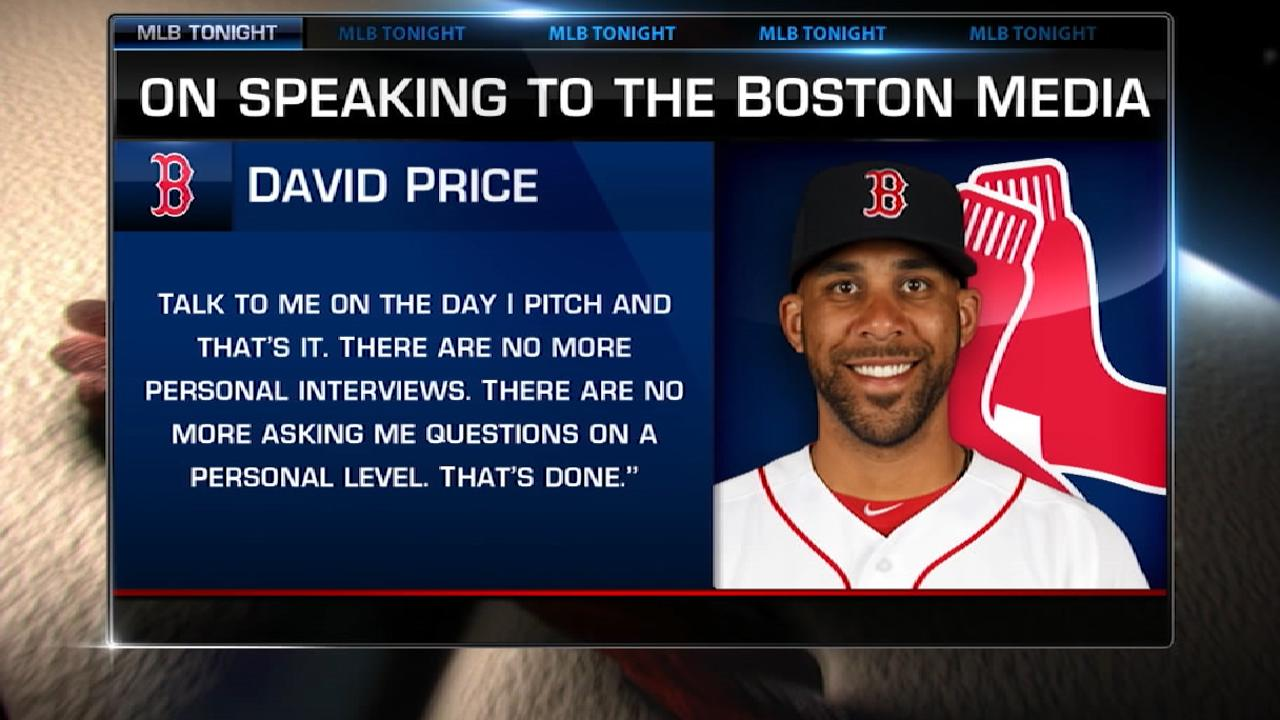 MLB Tonight on Price's comments