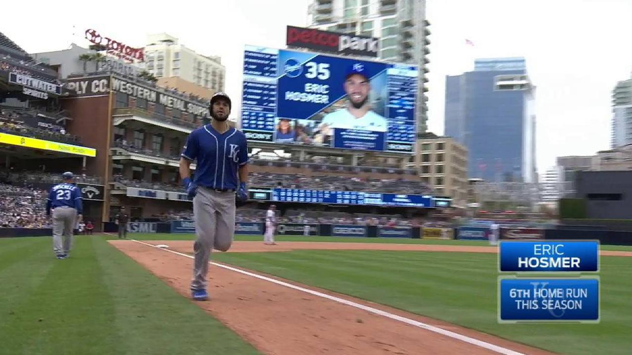 Hosmer's game-tying home run