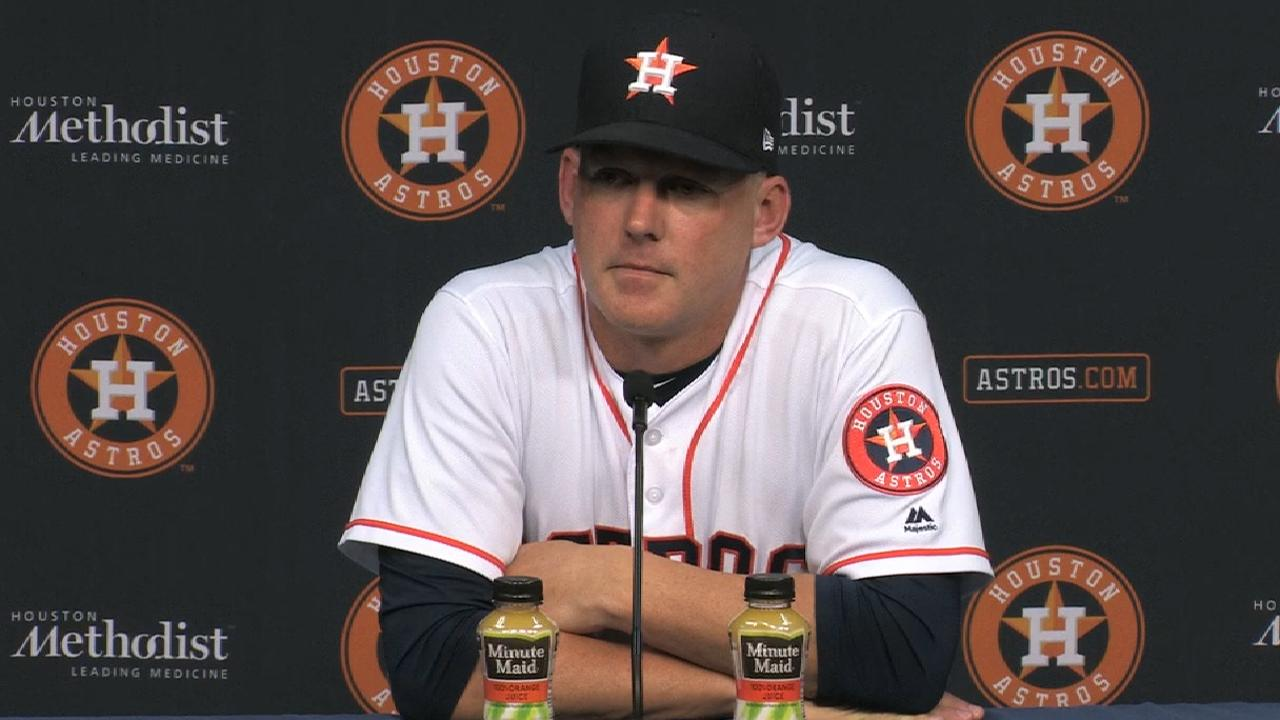 Hinch on the pitching in win