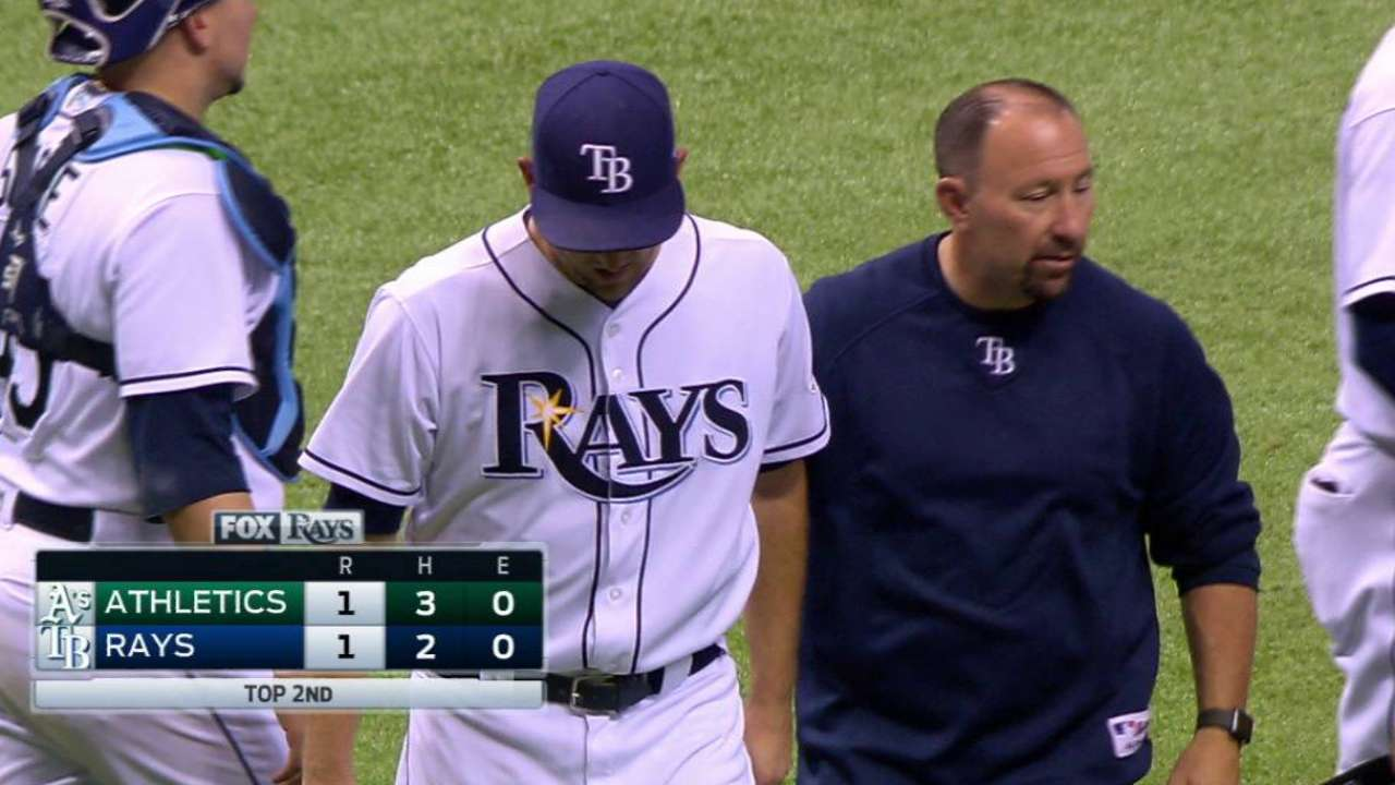 Andriese, Kiermaier to return later this month