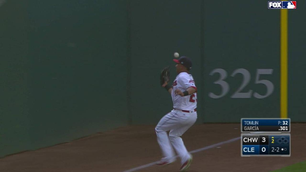 Brantley redeems himself after rare miscue