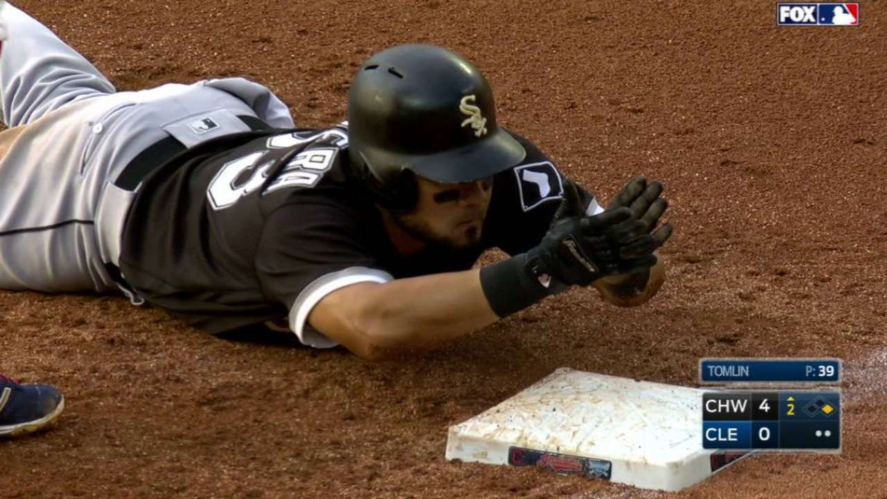 Melky's two-out, run-scoring hit