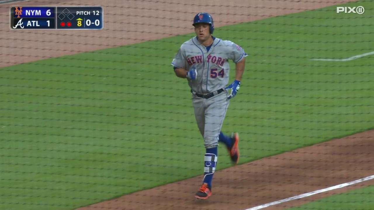 T.J. Rivera's two-run homer