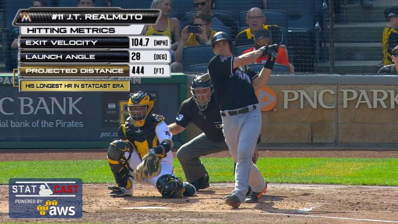 Statcast: Realmuto's solo homer