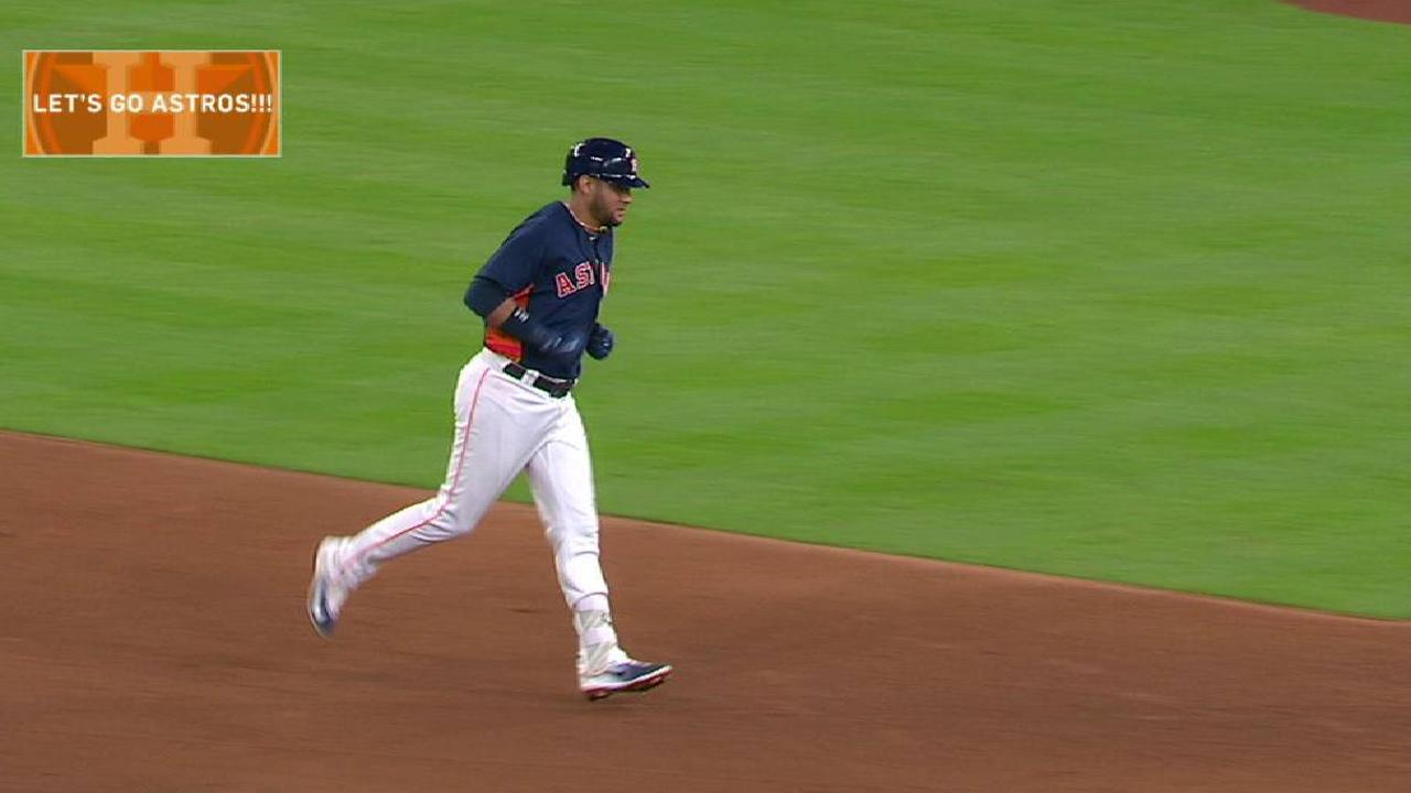 Gurriel's solo home run