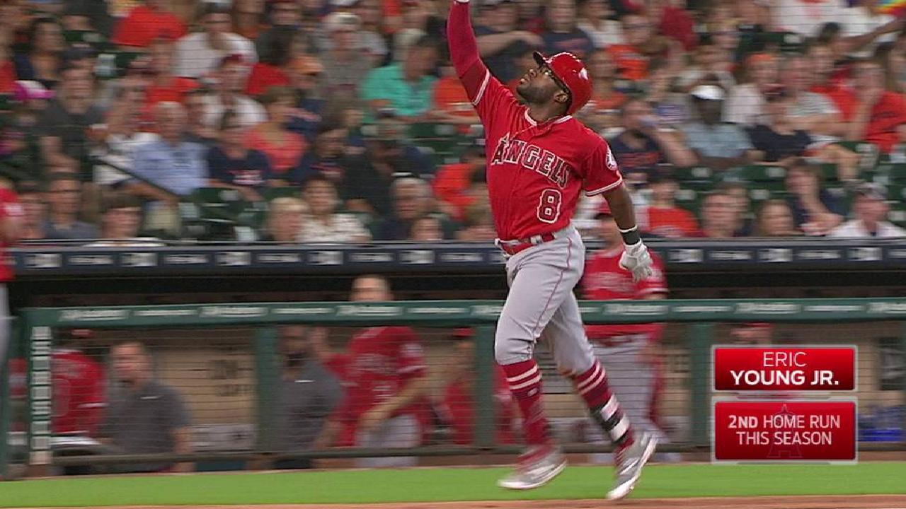 Young Jr.'s three-run homer