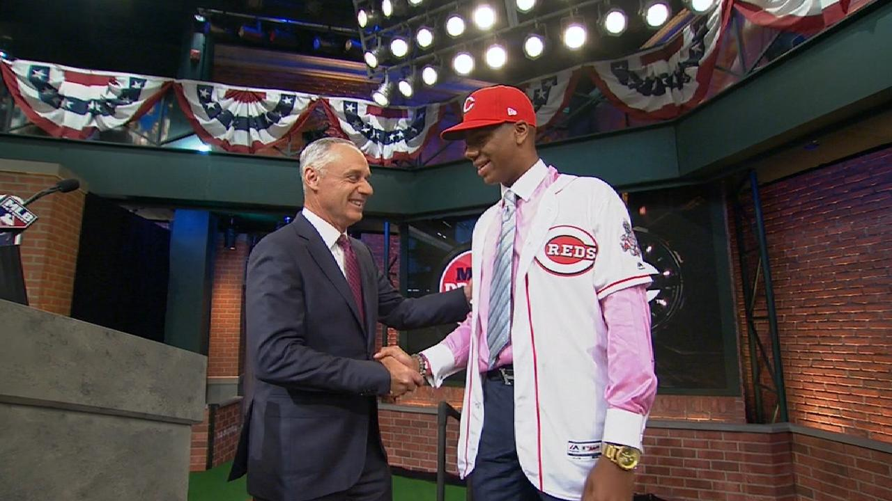 Reds draft RHP Greene No. 2