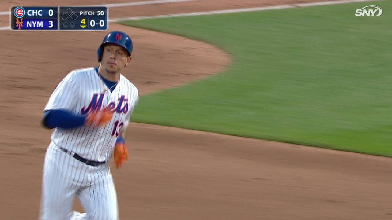 deGrom, jonrones de Asdrúbal guiaron a Mets sobre Cachorros