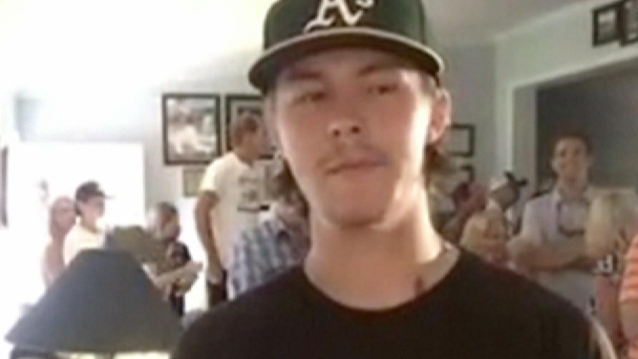 A's take prep OF Beck with No. 6 overall pick