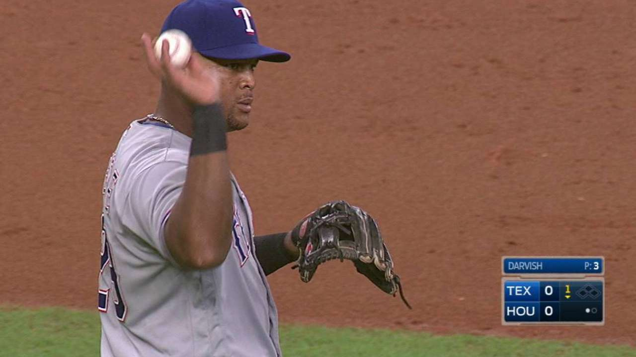 Beltre's smooth play on the run