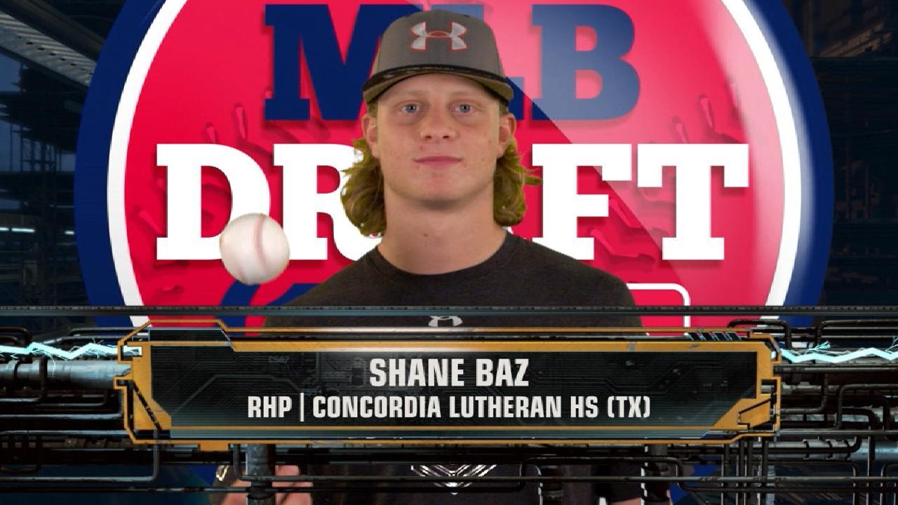 Pirates draft RHP Baz No. 12