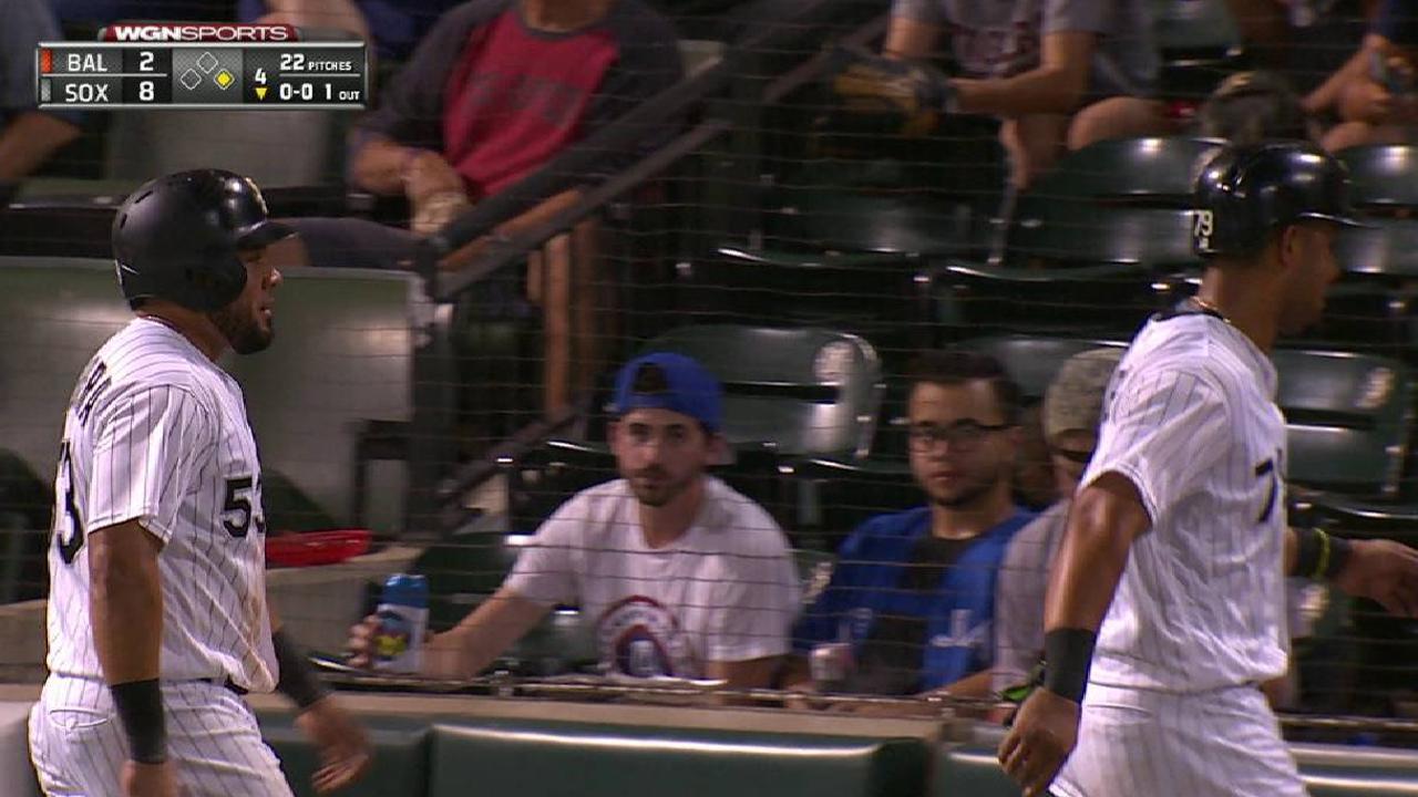 Avisaíl remolca tres en su cumpleaños y White Sox superan a Orioles