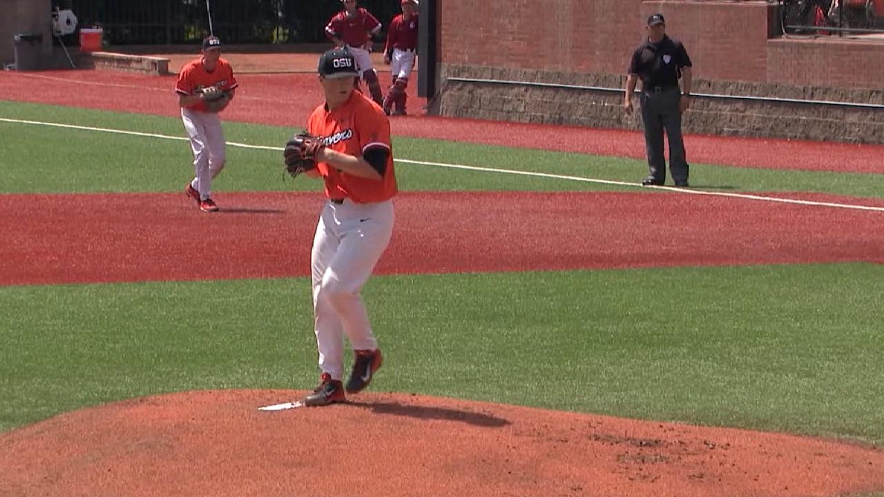 Rays select Oregon St. RHP Rasmussen at 31