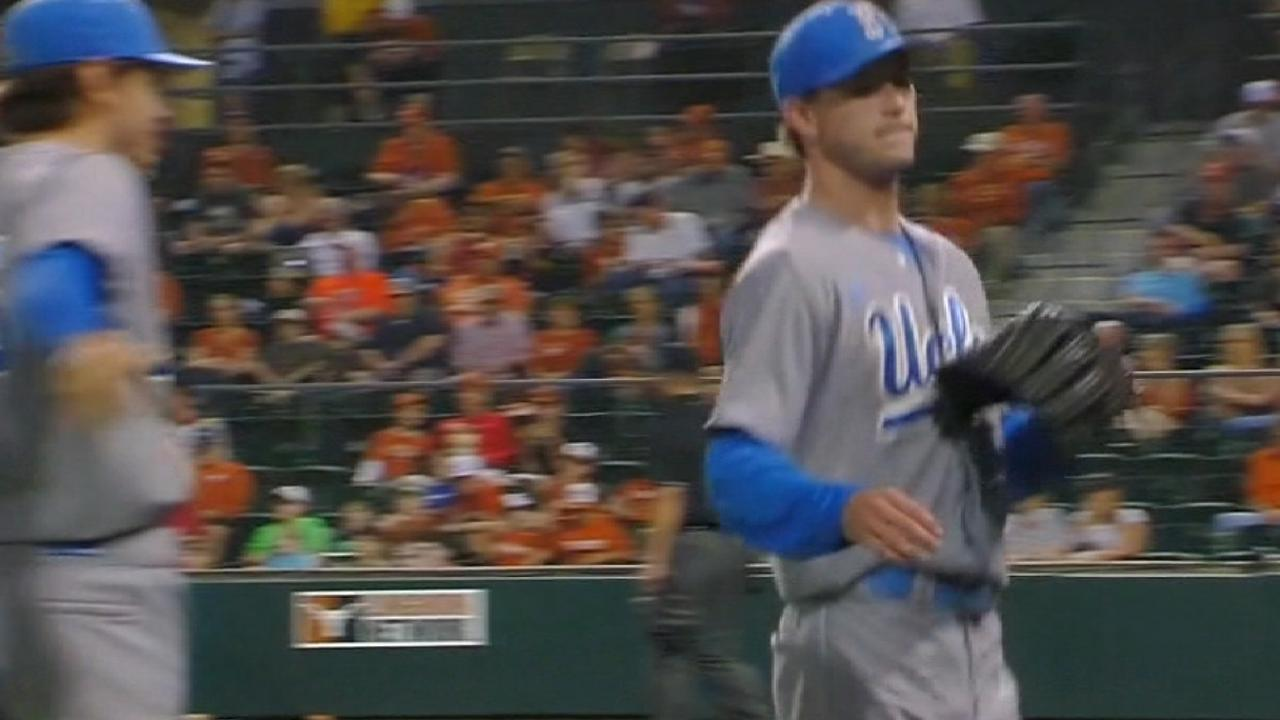 Halos add UCLA righty Canning to Day 1 haul