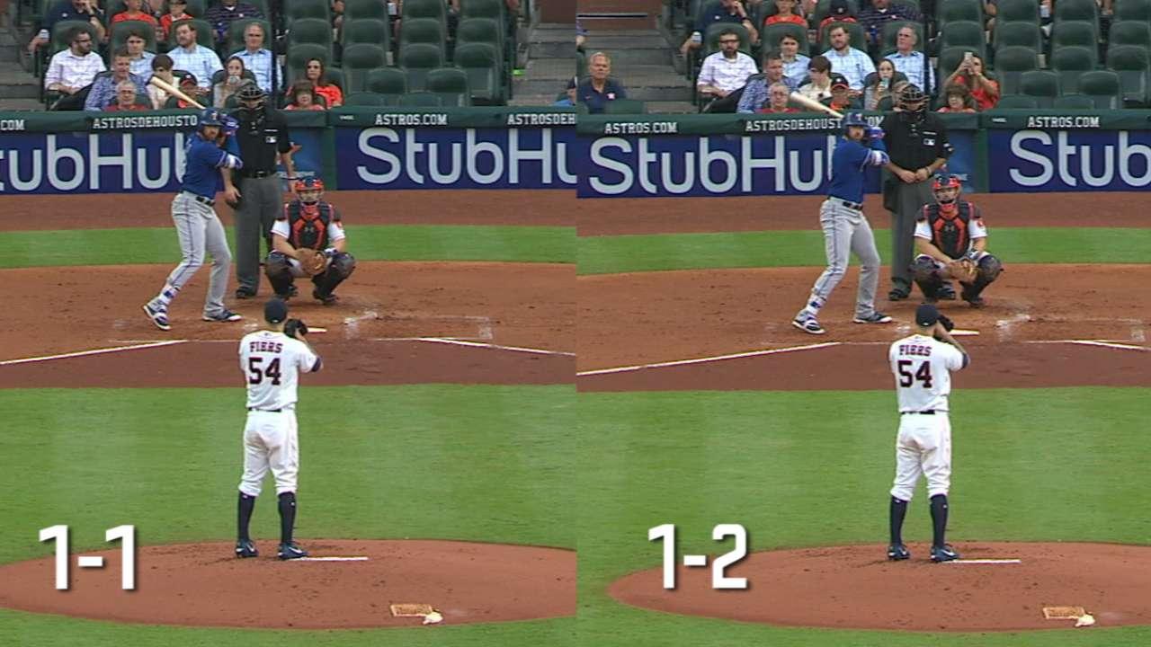 Gallo's swings side by side