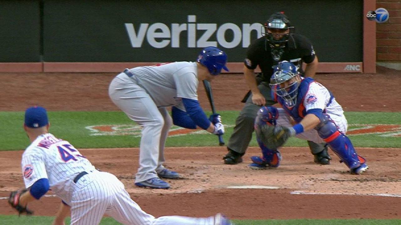 Rizzo draws a bases-loaded walk