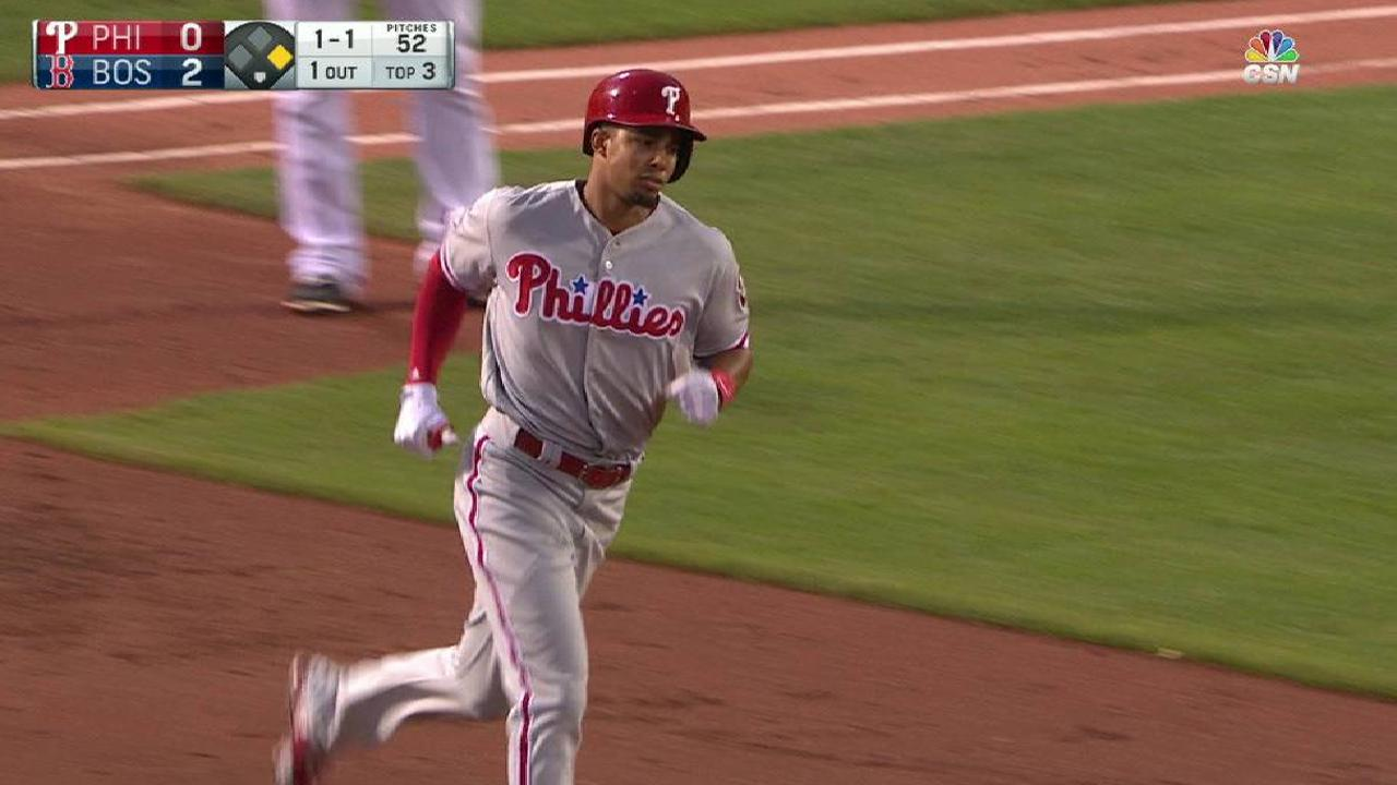 Phils drop tough one to Red Sox in 12