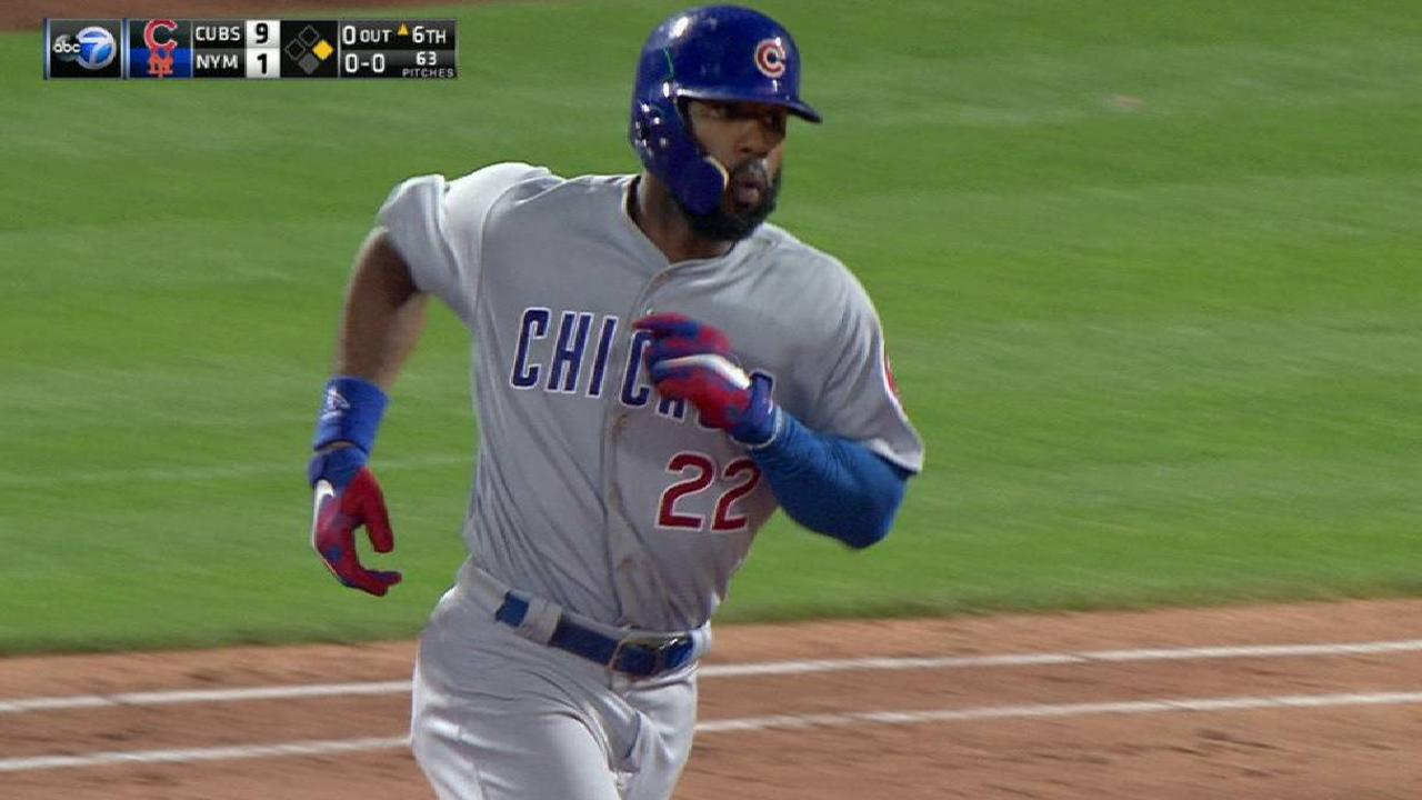 Heyward's towering two-run homer