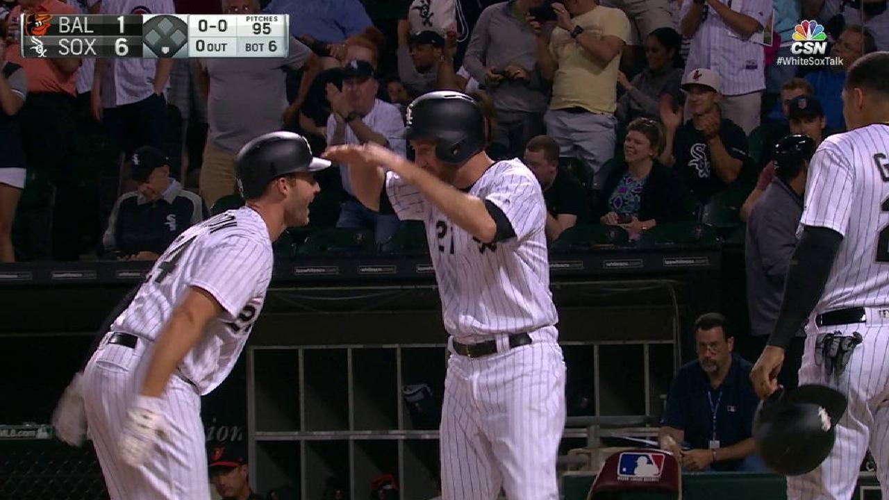 White Sox vencen a Orioles con grand slam de Davidson