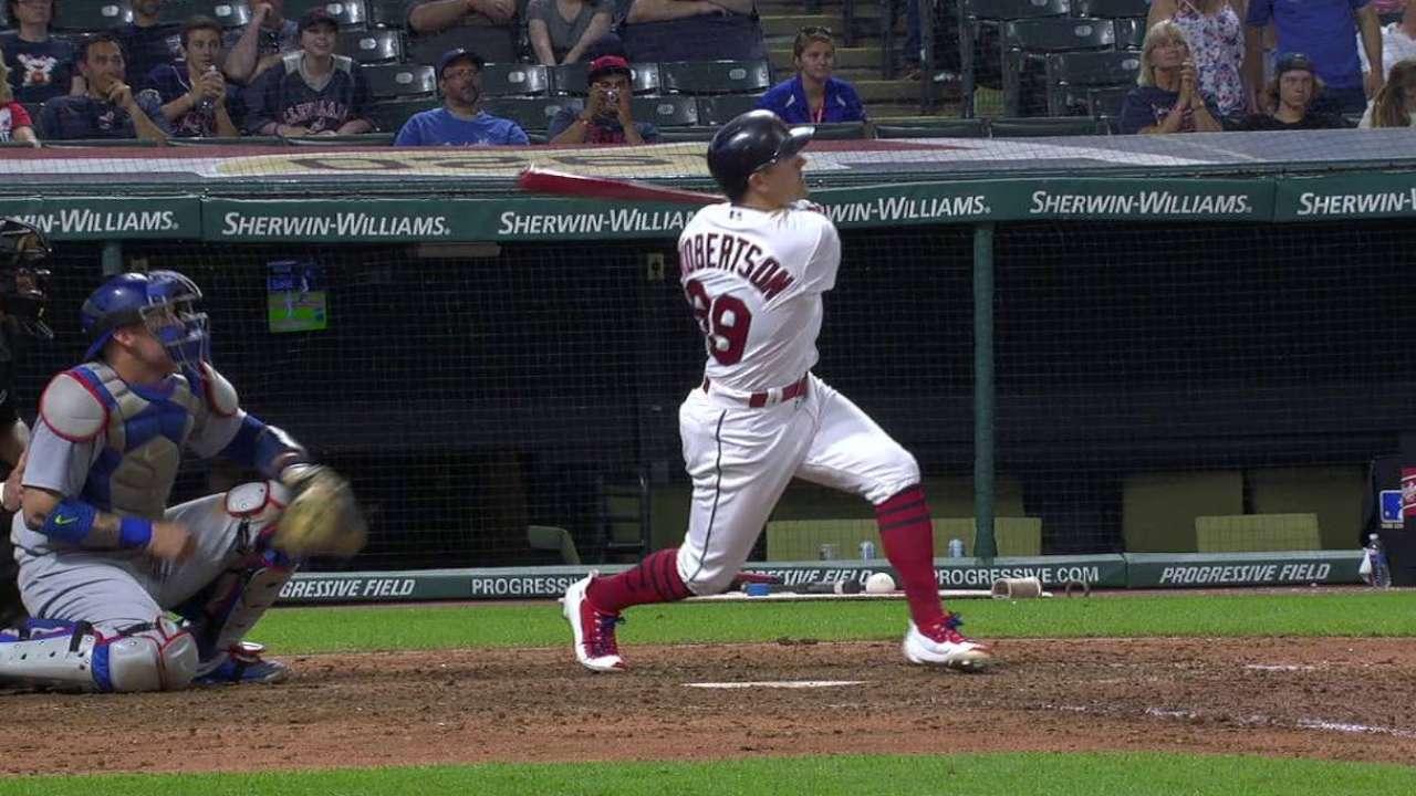 Robertson's late three-run homer