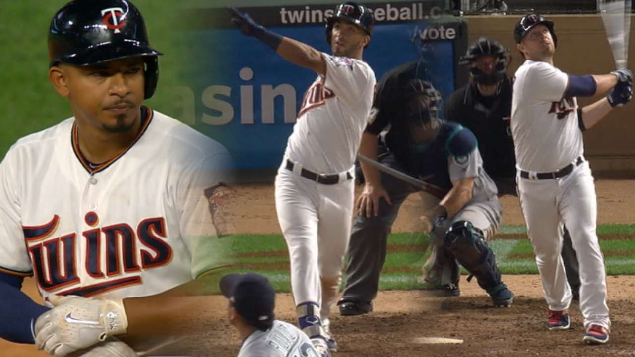 Twins: 28 hits and round triplets for Rosario!