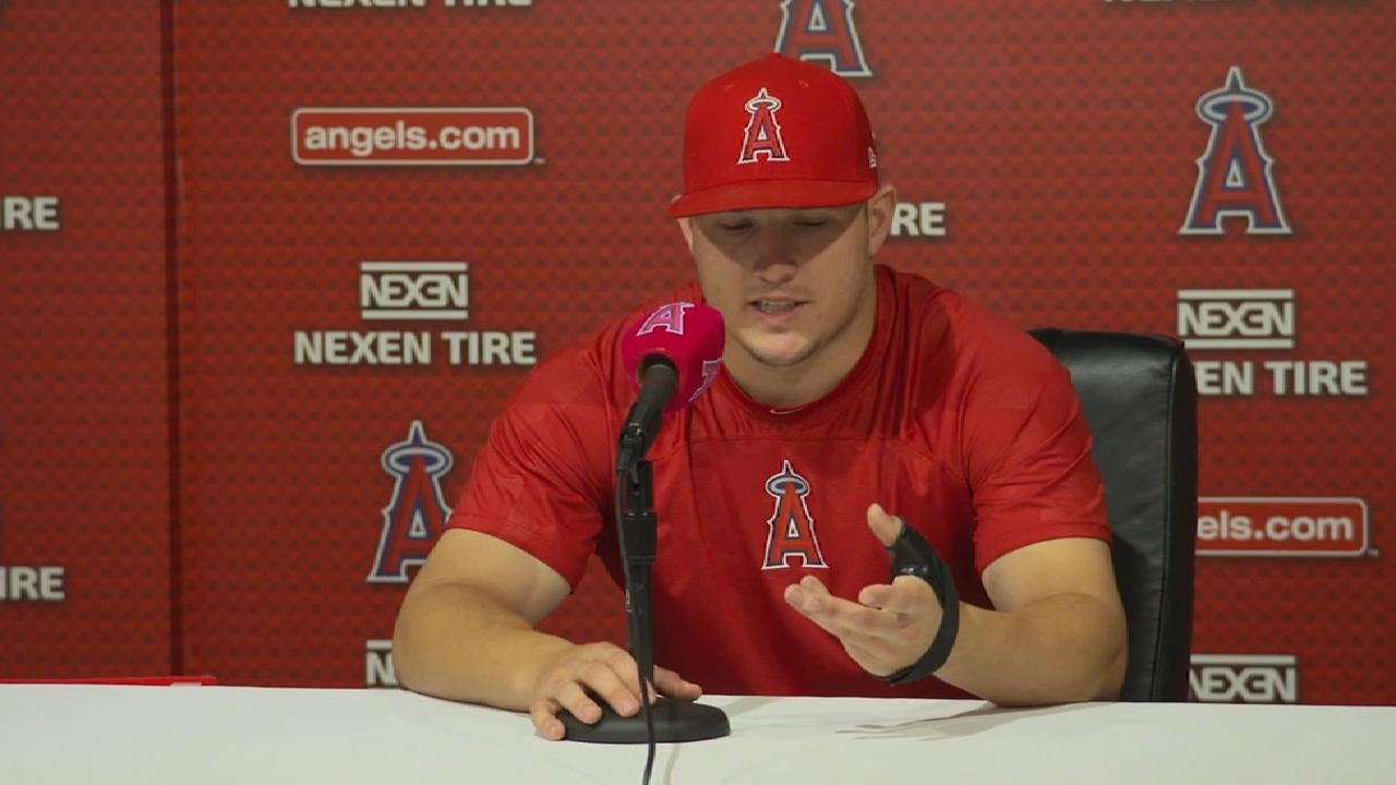 Trout could return before All-Star break