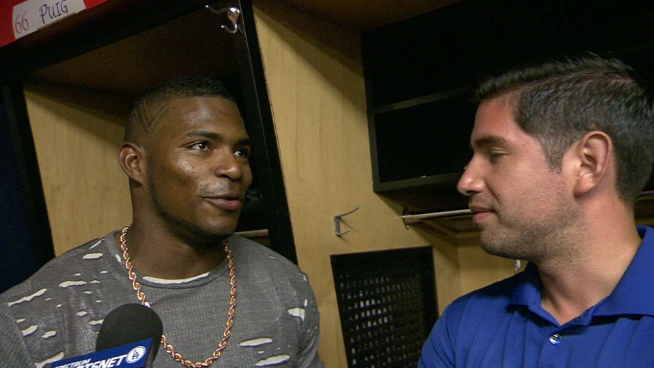 Puig: I 'stooped to their level' with gesture