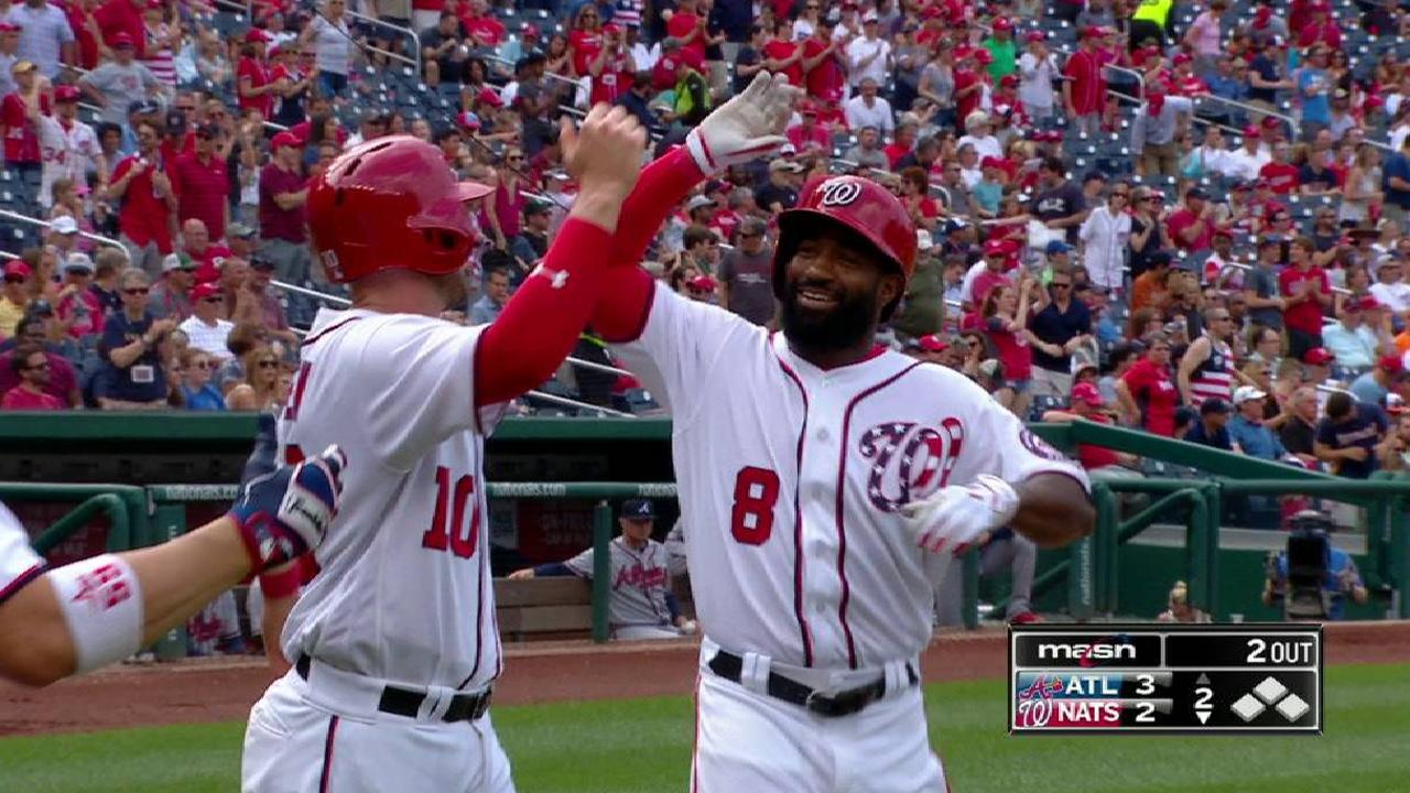 Goodwin Hrs Again, But Arms Struggle In Loss