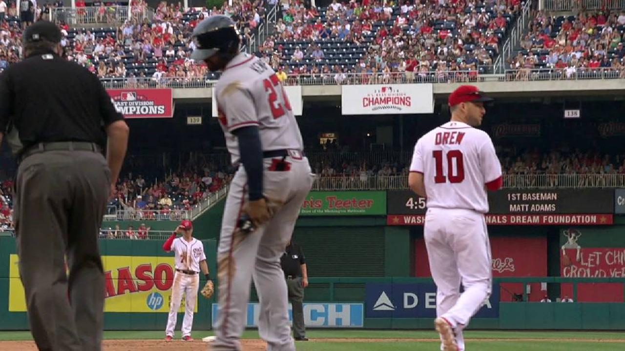 Kemp exits with injury