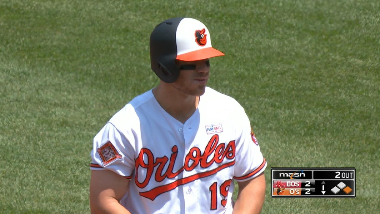 O's Davis won't rush back from oblique strain