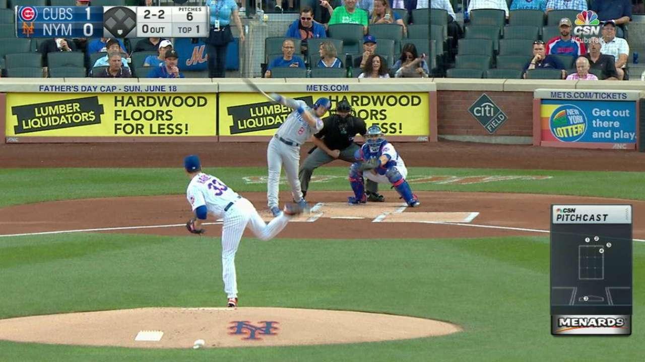 Happ's solo shot to right-center
