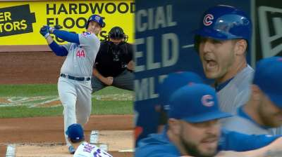 Twice is nice: Rizzo hits another leadoff homer for Cubs