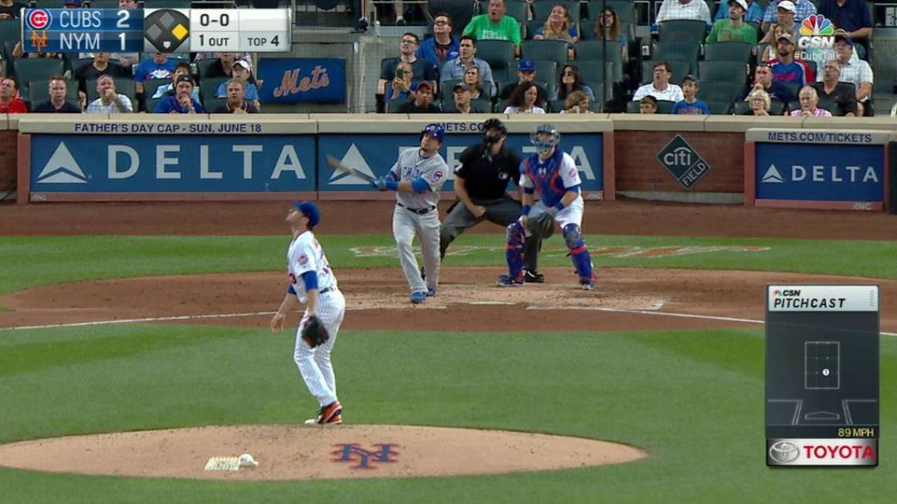 Quiet after 3 HRs, Cubs falter in New York