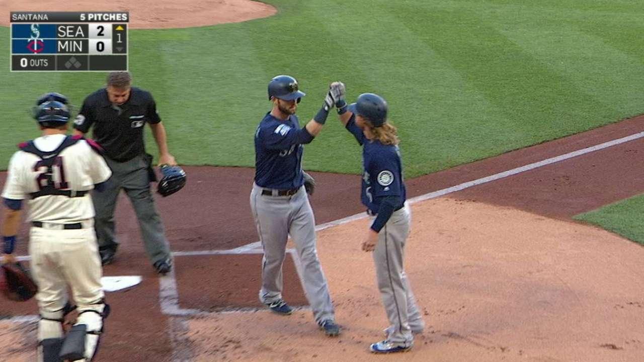 Haniger's two-run homer