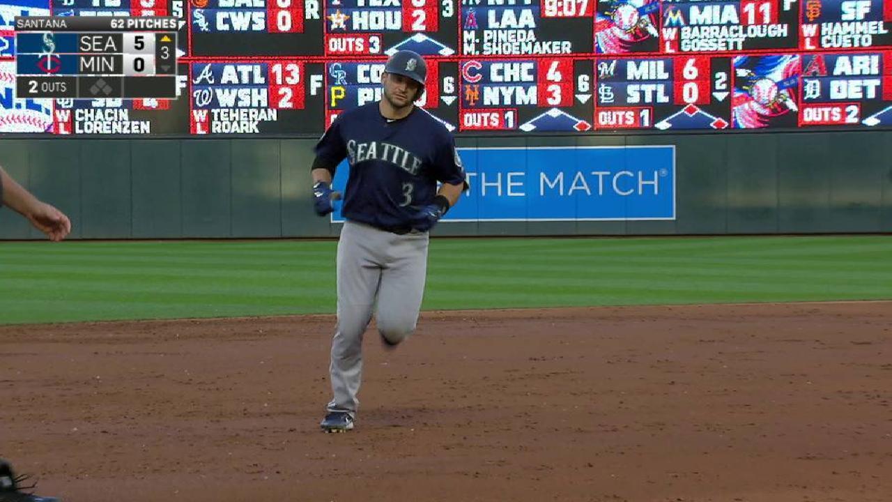 Zunino's three-run home run