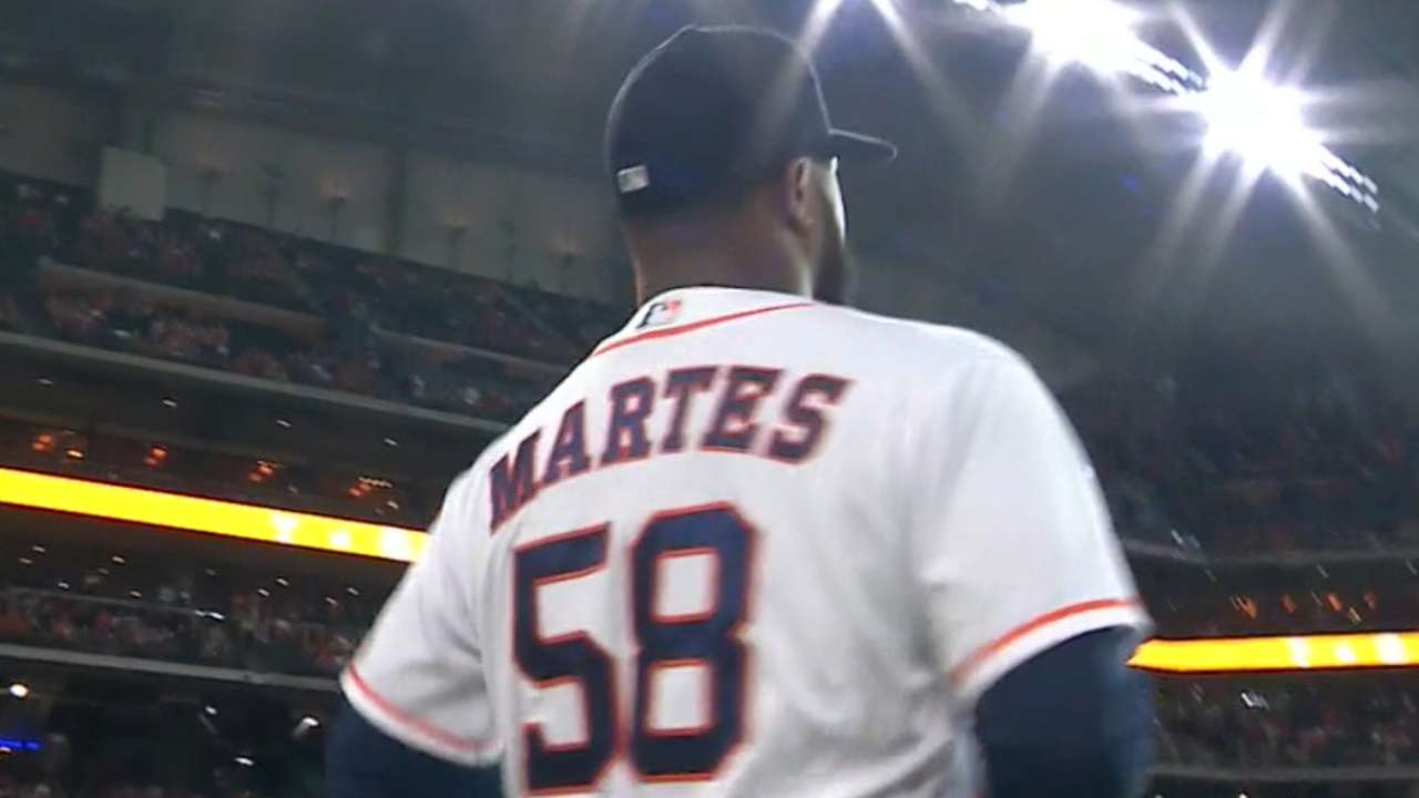 Martes' first career win